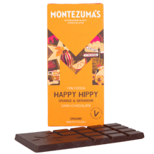 Montezuma's - Organic Milk Chocolate with Chilli and Lime 90g
